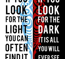 Light in the Dark by spellbending