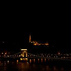 Budapest at night by Amber Elen-Forbat