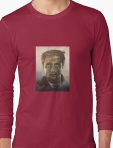 Harry Potter Oil Painting Long Sleeve T-Shirt