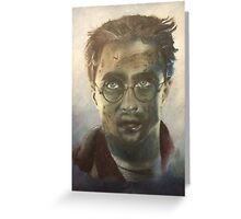 Harry Potter Oil Painting Greeting Card