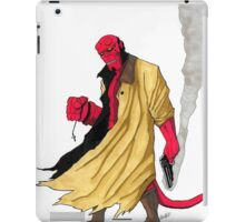 Hellboy Marker Sketch iPad Case/Skin