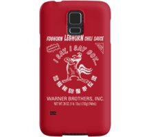 Foghorn Leghorn Sauce (White) Samsung Galaxy Case/Skin