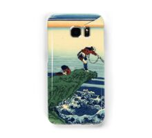 Kajikazawa in Kai province - Hokusai - Views of Mount Fuji Print Samsung Galaxy Case/Skin