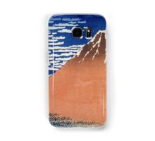 Mount Fuji - Hokusai - Views of Mount Fuji Print Samsung Galaxy Case/Skin