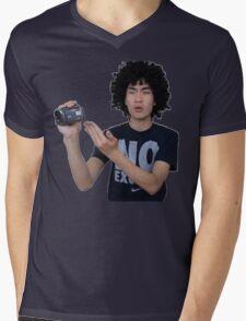 Afrogum x Ricegum Mens V-Neck T-Shirt