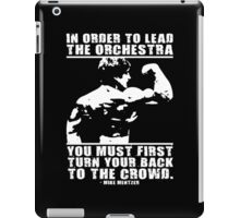 Turn Your Back To The Crowd iPad Case/Skin
