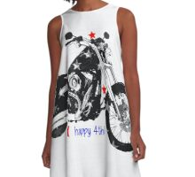 Happy 4th! A-Line Dress