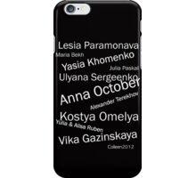 BEST OF EASTERN EUROPEAN FASHION DESIGNERS iPhone Case/Skin