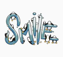 Smile Penguin One Piece - Short Sleeve