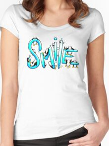 Smile Penguin Women's Fitted Scoop T-Shirt