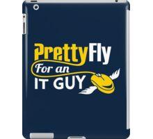 Pretty Fly for an IT Guy Geek Programmer iPad Case/Skin