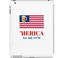 One Nation Under Beer iPad Case/Skin