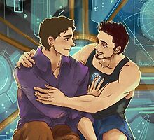 Tony and Bruce - Science! by thacmis