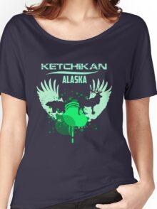 Ketchikan Downtown Women's Relaxed Fit T-Shirt