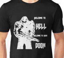Doom 4 (white) Unisex T-Shirt