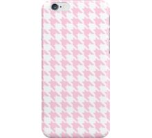PINK HOUNDSTOOTH iPhone Case/Skin