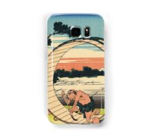 Owari province - Hokusai - Views of Mount Fuji Print Samsung Galaxy Case/Skin