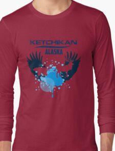Ketchikan Alaska Downtown Long Sleeve T-Shirt