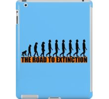 THE ROAD TO EXTINCTION iPad Case/Skin