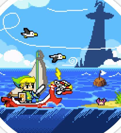 Zelda - Wind Waker Advanced Sticker