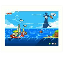 Zelda - Wind Waker Advanced Art Print