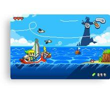 Zelda - Wind Waker Advanced Canvas Print
