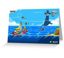 Zelda - Wind Waker Advanced Greeting Card