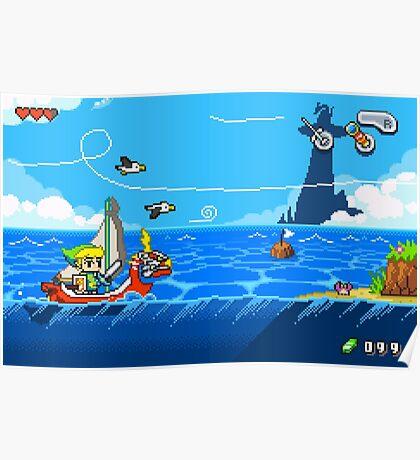 Zelda - Wind Waker Advanced Poster