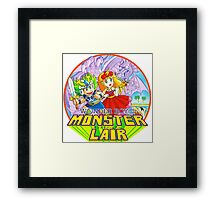 Wonder Boy Framed Print