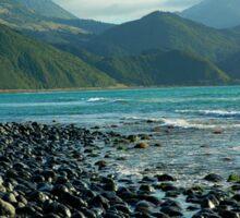 Kaikoura Coastline - South Island Sticker