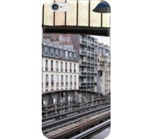 Heading to Sortie on the Metro iPhone Case/Skin