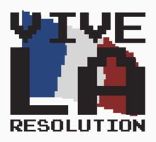 Vive La Resolution! One Piece - Short Sleeve