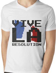 Vive La Resolution! Mens V-Neck T-Shirt