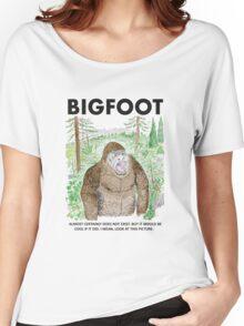 Bigfoot! Women's Relaxed Fit T-Shirt