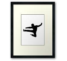 Karate Kung Fu  Framed Print