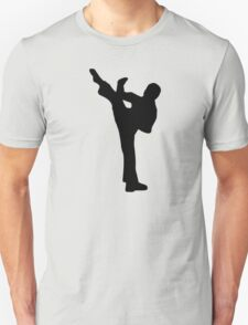 Martial arts fighter Unisex T-Shirt