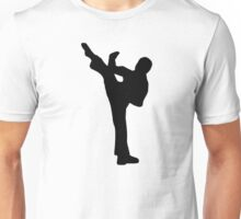 Martial arts fighter Unisex T-Shirt