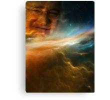 Gabe Newell Is Watching From The Stars Canvas Print