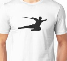 Martial arts kick fighter Unisex T-Shirt
