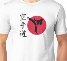 Chinese Karate fighter Unisex T-Shirt