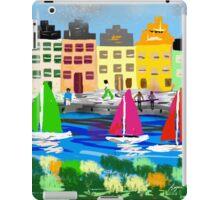 Copenhagen by Roger Pickar, Goofy America iPad Case/Skin