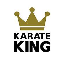 Karate king champion Photographic Print