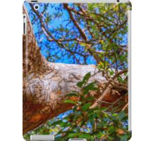 Chinese oak reaching out iPad Case/Skin