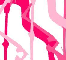 Flamingo Dancers Corps de Ballet  Sticker