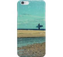 surfers at lagoon 1 iPhone Case/Skin