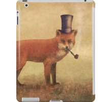 Crazy Like a Fox iPad Case/Skin