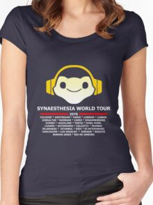 Synaesthesia World Tour Women's Fitted Scoop T-Shirt