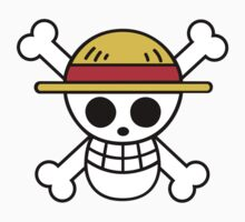 Straw Hat Pirates/Luffy Crest by iiKyro