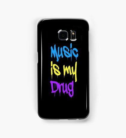 Music Is My Drug Samsung Galaxy Case/Skin