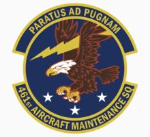 461st Aircraft Maintenance Squadron - Paratus Ad Pugnam - Prepared To Fight by VeteranGraphics